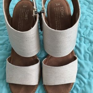 Toms zip-up sandals
